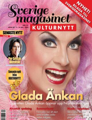 Sverigemagasinet Kulturnytt 2021-07-09