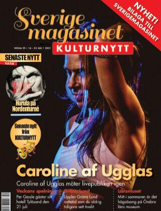 Sverigemagasinet Kulturnytt 2021-07-16