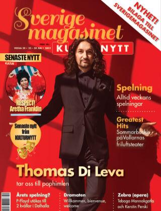 Sverigemagasinet Kulturnytt 2021-07-23