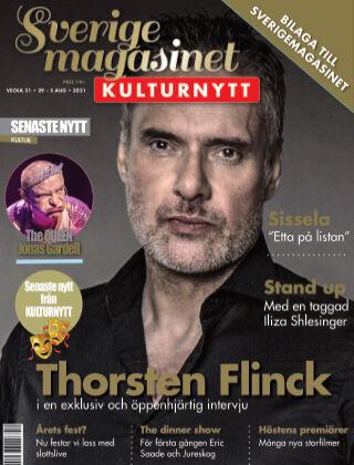 Sverigemagasinet Kulturnytt 2021-07-30