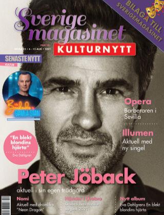 Sverigemagasinet Kulturnytt 2021-08-06