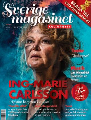 Sverigemagasinet Kulturnytt 2021-08-20