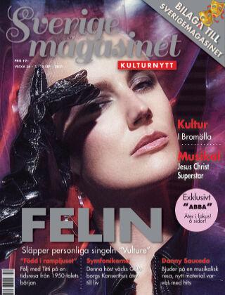 Sverigemagasinet Kulturnytt 2021-09-03