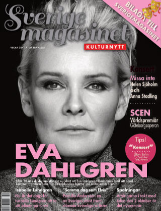Sverigemagasinet Kulturnytt 2021-09-17