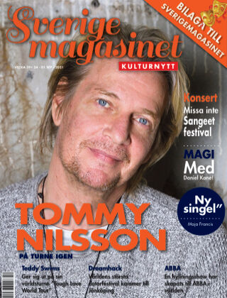 Sverigemagasinet Kulturnytt 2021-09-24