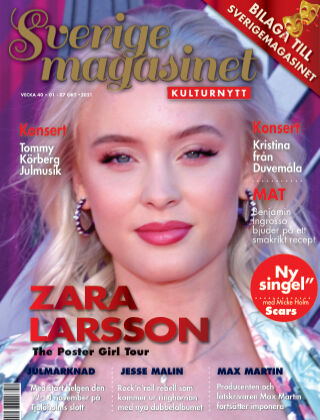 Sverigemagasinet Kulturnytt 2021-10-01