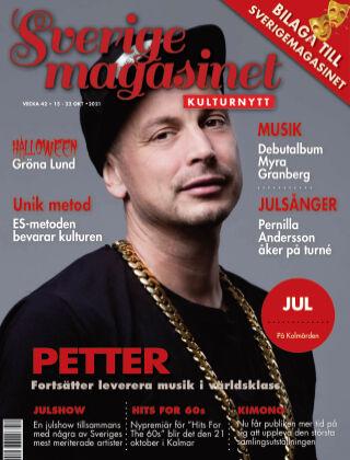 Sverigemagasinet Kulturnytt 2021-10-15