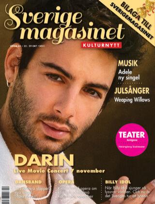 Sverigemagasinet Kulturnytt 2021-10-22