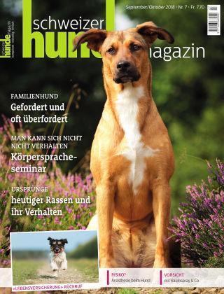 Schweizer Hunde Magazin 7/18