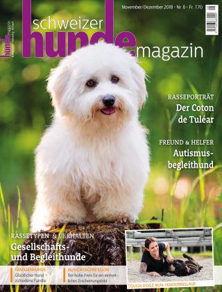 Schweizer Hunde Magazin 8/18