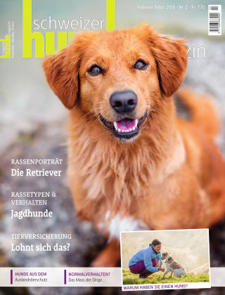 Schweizer Hunde Magazin 2/19