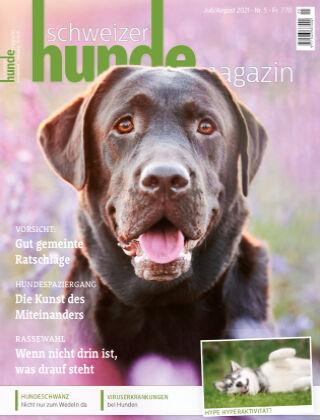 Schweizer Hunde Magazin 5/21