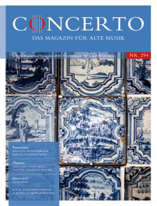 Concerto - Das Magazin für Alte Musik 294