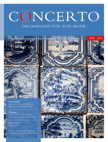 Concerto - Das Magazin für Alte Musik November 01, 2020 00:00