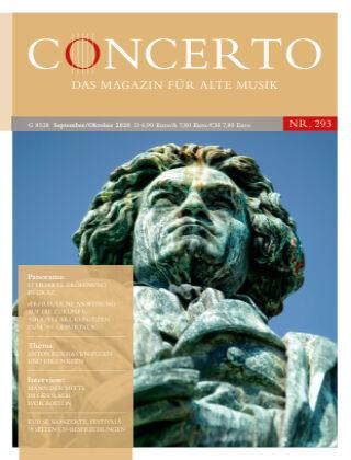 Concerto - Das Magazin für Alte Musik 293