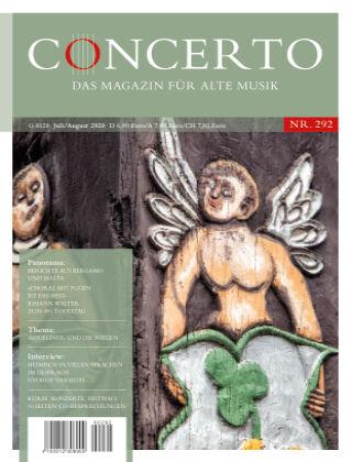 Concerto - Das Magazin für Alte Musik 292