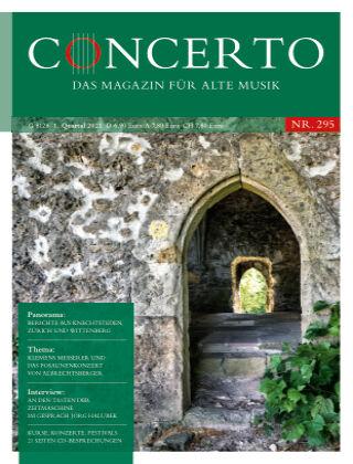 Concerto - Das Magazin für Alte Musik 295
