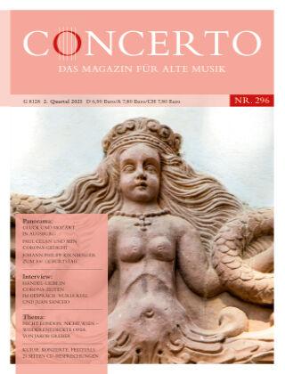 Concerto - Das Magazin für Alte Musik 296