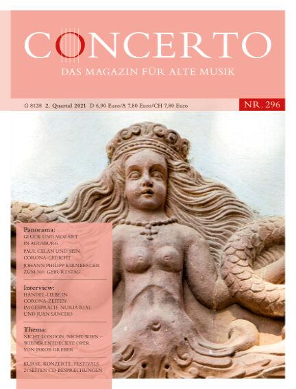 Concerto - Das Magazin für Alte Musik April 01, 2021 00:00