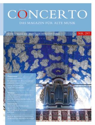 Concerto - Das Magazin für Alte Musik 297