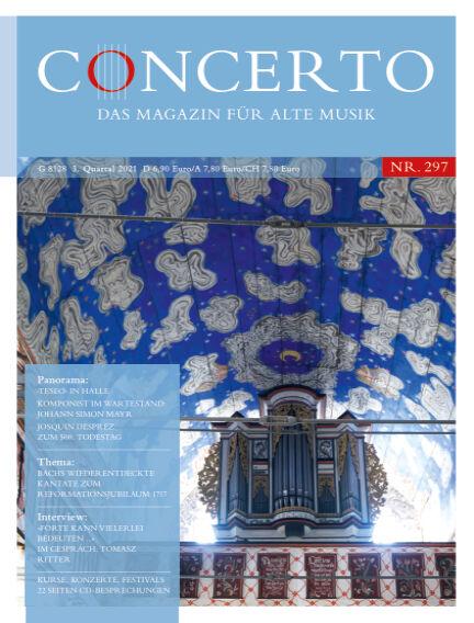 Concerto - Das Magazin für Alte Musik July 01, 2021 00:00