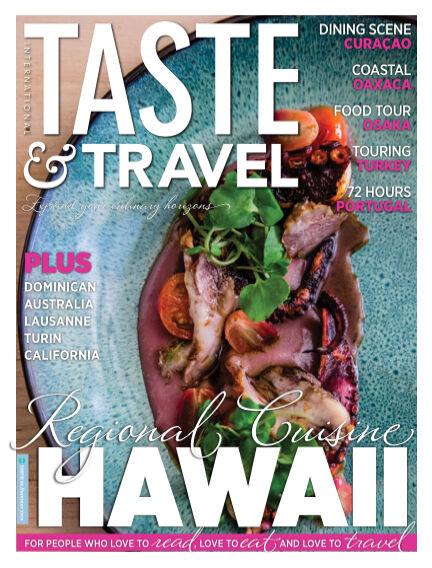 Taste&Travel Magazine July 01, 2020 00:00
