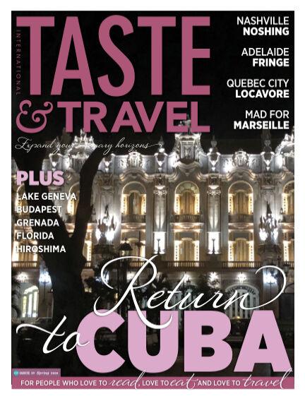 Taste&Travel Magazine April 01, 2020 00:00