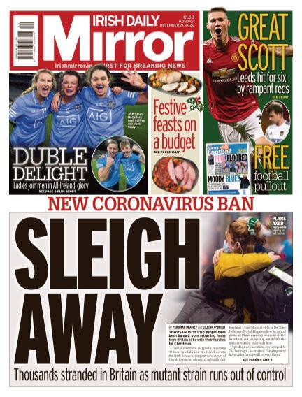 Irish Daily Mirror December 21, 2020 00:00