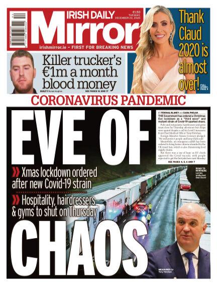 Irish Daily Mirror December 22, 2020 00:00