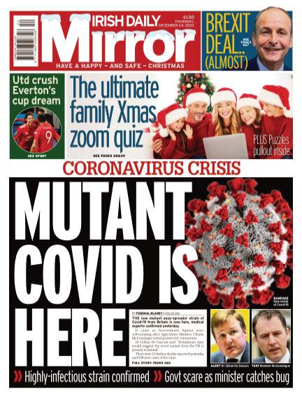 Irish Daily Mirror December 24, 2020 00:00