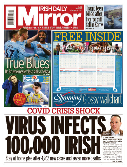 Irish Daily Mirror January 04, 2021 00:00