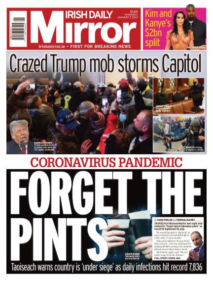 Irish Daily Mirror January 07, 2021 00:00