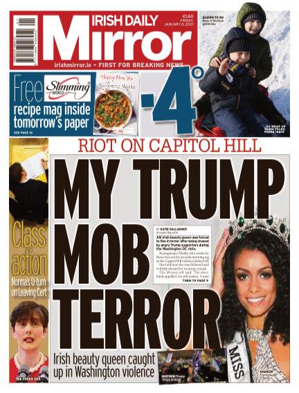 Irish Daily Mirror January 08, 2021 00:00