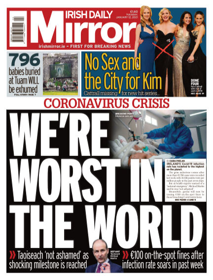 Irish Daily Mirror January 12, 2021 00:00
