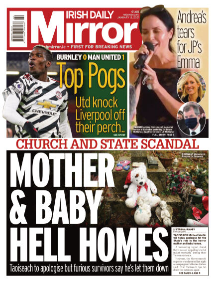 Irish Daily Mirror January 13, 2021 00:00
