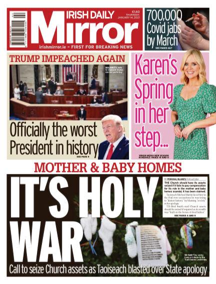 Irish Daily Mirror January 14, 2021 00:00