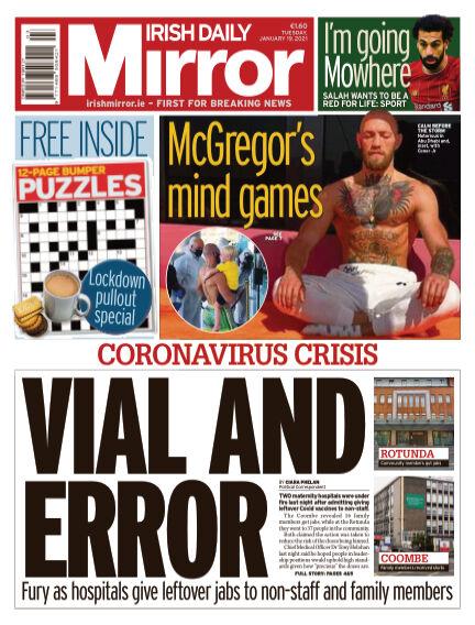 Irish Daily Mirror January 19, 2021 00:00