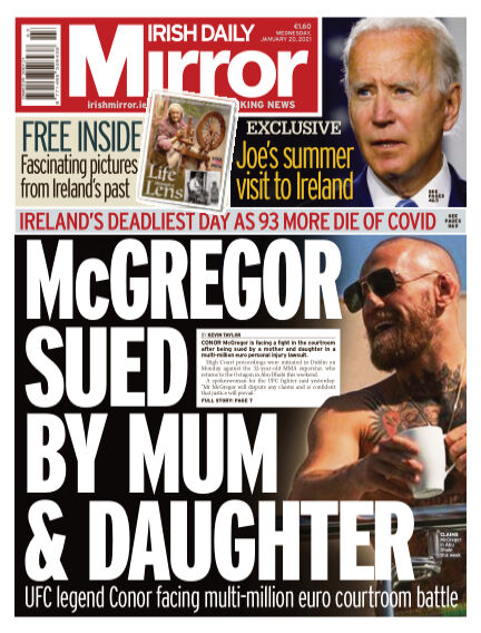 Irish Daily Mirror January 20, 2021 00:00