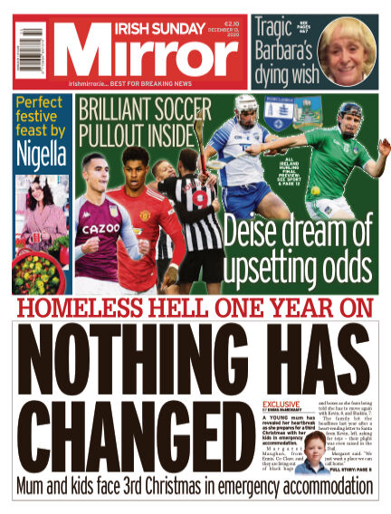 Irish Sunday Mirror December 13, 2020 00:00