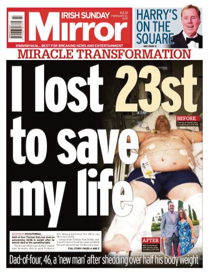 Irish Sunday Mirror February 21, 2021 00:00