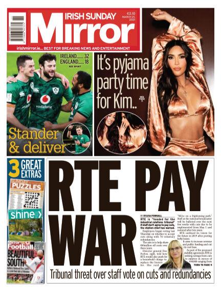 Irish Sunday Mirror March 21, 2021 00:00