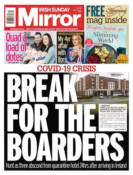 Irish Sunday Mirror March 28, 2021 00:00