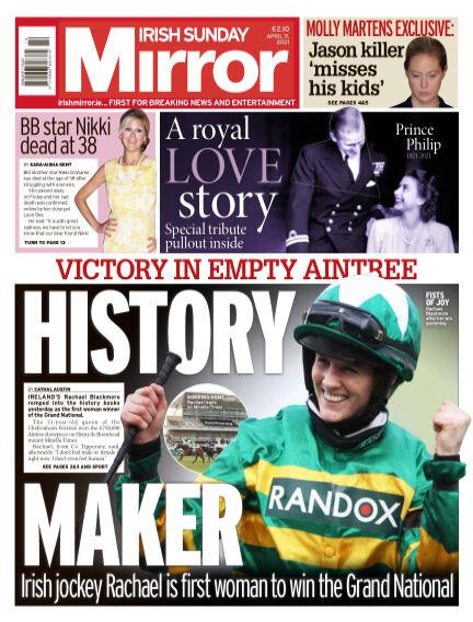 Irish Sunday Mirror April 11, 2021 00:00