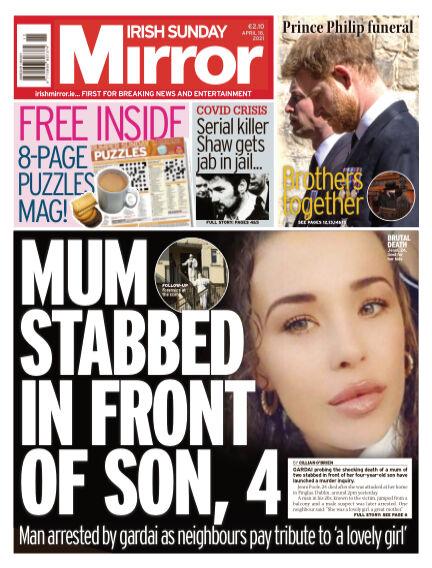 Irish Sunday Mirror April 18, 2021 00:00