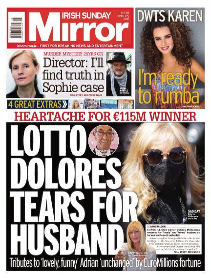 Irish Sunday Mirror April 25, 2021 00:00