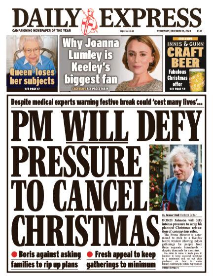 Daily Express (Irish) December 16, 2020 00:00