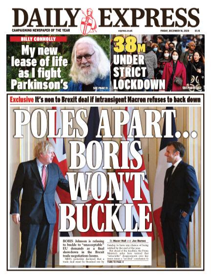 Daily Express (Irish) December 18, 2020 00:00