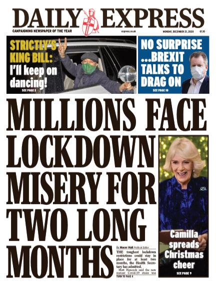 Daily Express (Irish) December 21, 2020 00:00
