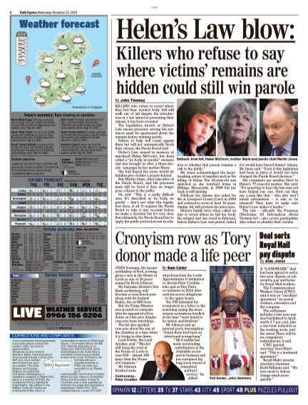 Daily Express (Irish) December 23, 2020 00:00
