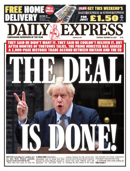 Daily Express (Irish) December 24, 2020 00:00
